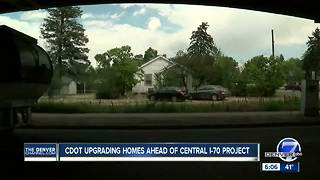 CDOT upgrading homes ahead of Central I-70 project - Video