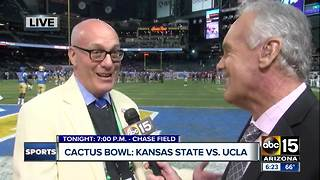 Cactus Bowl is set to be underway in Phoenix - Video