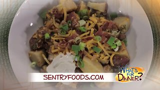 What's for Dinner? - Loaded Slow Cooker Potatoes