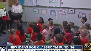 New proposals released on how to better fund education in Arizona - Video
