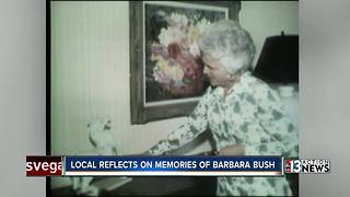 Nevadan Sig Rogich shares thoughts on Barbara Bush's legacy - Video