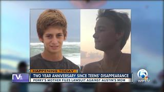 Two-year anniversary of Austin and Perry's disappearance - Video