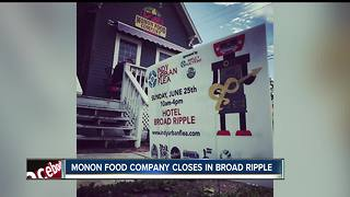 Monon Food Company closes its doors in Broad Ripple - Video