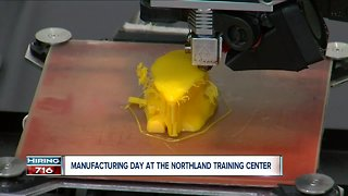 Manufacturing day at the Northland Training Center