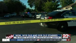 3 people stabbed in central Bakersfield - Video