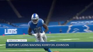 Report: Lions waive Kerryon Johnson