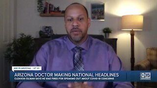 Arizona doctor fired after raising concerns about COVID?