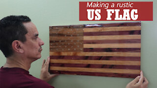 Making a wooden US Flag