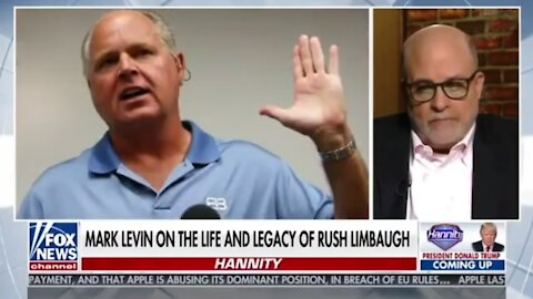 Mark Levin: Rush Is The Thomas Paine of Our Era