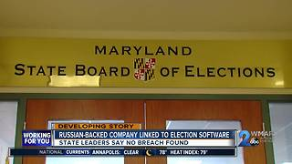 Link between Russian-backed company and MD State Board of Elections - Video
