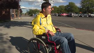 Wheelchair stolen from quadriplegic at Boise State home football game - Video