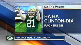 Packers Ha Ha Clinton-Dix looks to make off-field impact - Video