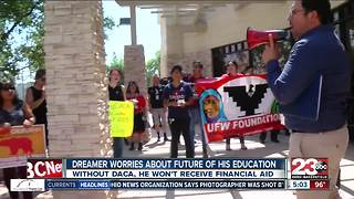 Local DACA recipient worries about the future of his education - Video