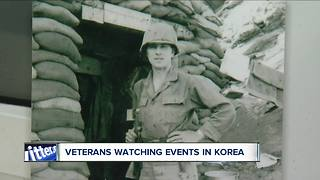 Local veterans watching events in Korea
