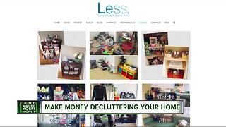 Make money decluttering your house this spring - Video