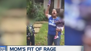 Mom's fit of rage caught on tape - Video