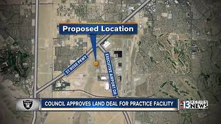 UPDATE: Henderson council moves forward on Raiders practice facility - Video