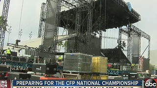 Tampa ready to host National College Football Championship - Video