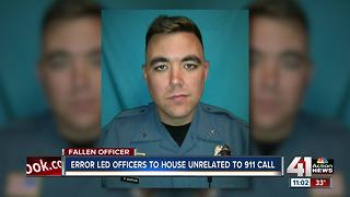 Error in 911 call leads to Clinton officer death - Video