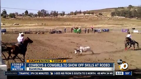 Cowboy and cowgirl to show off skills at rodeo