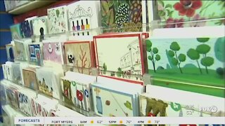 Hallmark gives away greeting cards