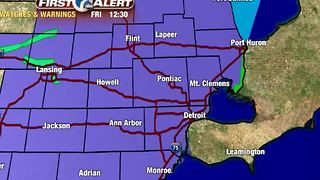 Winter Weather Advisory - Video