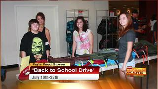 Salvation Army Back to School Drive - Video