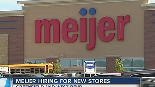 Meijer filling 600 positions for new stores in Greenfield and West Bend - Video