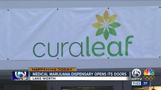 Second medical marijuana dispensary opens in Lake Worth - Video