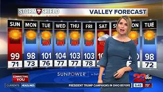 Seasonal temperatures, bad air quality - Video