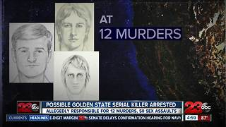 Suspected Golden State serial killer is behind bars