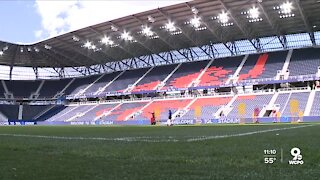 TQL Stadium offers fan experiences in the seats and on the pitch