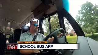 Technology helps parents track kids, buses when they go back to school - Video