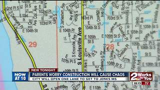 Parents worry about construction will ause chaos - Video