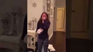 Teenager Gets Unexpected Christmas Surprise - Video