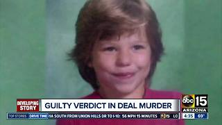 Man found guilty in 10-year-old's death