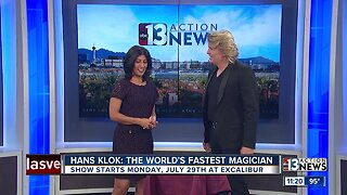 Magician Hans Klok returns to The Exclaibur with a new show