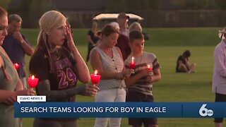 Community members plan vigil tonight for missing Eagle 2-year-old