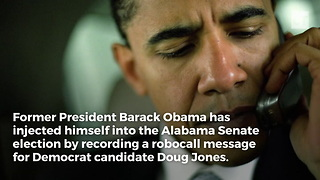 Obama Injects Himself Into Alabama Race - Video