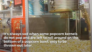 Ever Wonder Why Some of Your Popcorn Kernels Don't Pop? Here's the Scoop. - Video