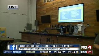 Oktoberfest comes to Fort Myers at Millennial Brewing - Video