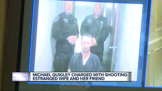 Accused Ortonville shooter Michael Quigley held on $8 million bond - Video