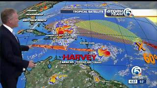 Tropical Storm Harvey forms - Video