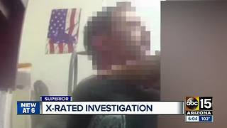 Superior police officer accused of using body camera to record sexual encounter - Video