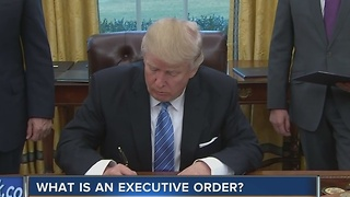 What is an executive order? - Video