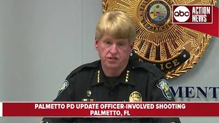 Palmetto Police Department update fatal officer-involved shooting - Video