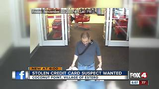 Stolen Credit Card Suspect Wanted - Video