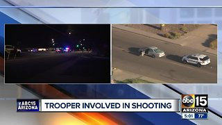 Trooper involved shooting