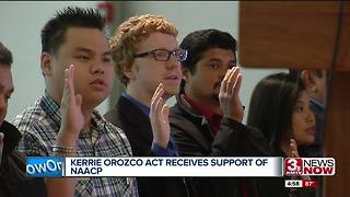 Kerrie Orozco Act gets support of NAACP - Video