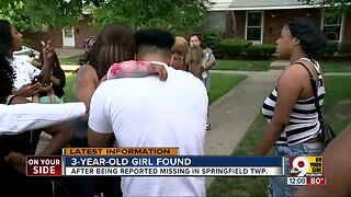 Missing three-year-old found safe in Springfield Twp.
